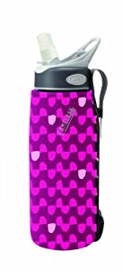 CamelBak Insulated Bottle Sleeve (Purple Dot, .75 Litre/24 -Ounce)