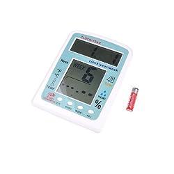 BestDealUSA Multi-Function Digital Clock/Week Temperature / Humidity Thermo-Humidity Meter