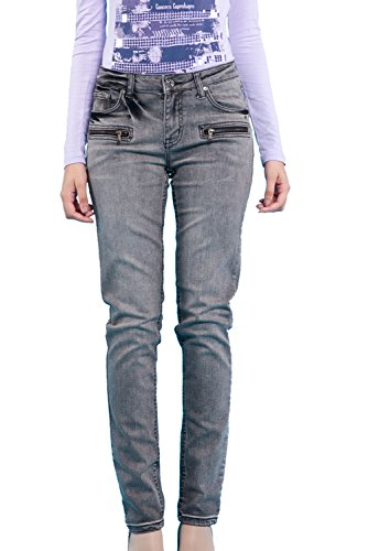 Nice Gain -  Jeans  - Donna Grey Small