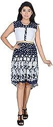 Asmara, Because I Am Women's Regular Fit Dress(850_Dark Blue_Dark Blue_Free Size)