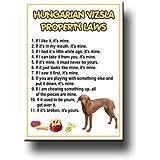 Hungarian Vizsla Property Laws Fridge Magnet No 1