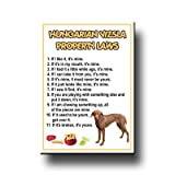 Hungarian Vizsla Property Laws Fridge Magnet No 1