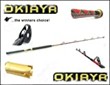 OKIAYA COMPOSIT 80-130LB SALTWATER BIG GAME ROLLER ROD