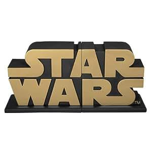 Gentle giant studios star wars serre livres logo gold - Serre livre star wars ...