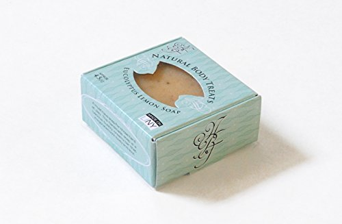 All Natural Eucalyptus Lemon Bar Soap - Vegan Friendly, Handmade, Cruelty Free - 1