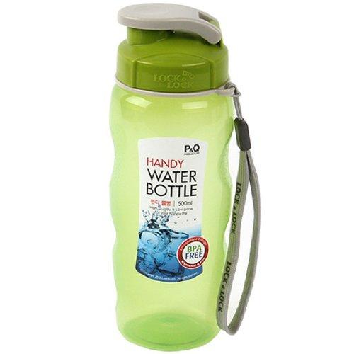 LockandLock BPA Free Sports Handy Easy Grip Water Bottles 500ml (Green) (Locklock Bottle compare prices)