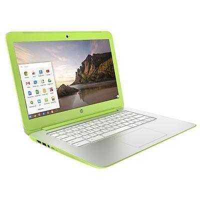 HP 14X015WMREF 14″ Chromebook NVIDIA Tegra K1, 16GB Solid State Drive, 2GB DDR3, 802.11ac, Bluetooth, ChromeOS, Neon Green