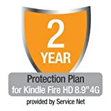 """2-Year Protection Plan plus Accident Protection for Kindle Fire HD 8.9"""" 4G"""
