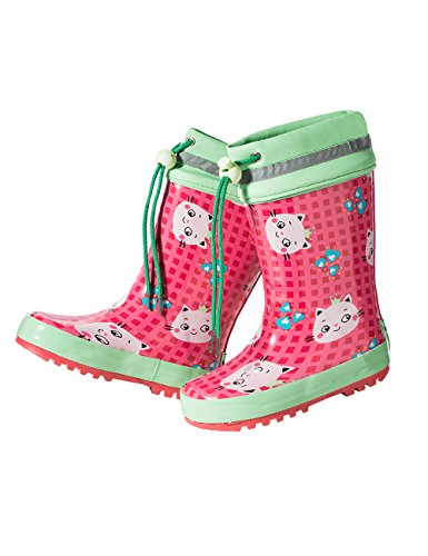 Maximo-Children-Rubber-Boots-Baby-pink-Rose-Mint-Green-Cat-Hunting-Fishing-Walking-Waterproof-Wellies-Rain-Wellington-Boots-with-Cuff-and-Jersey-Lining-Natural-rubber