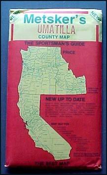 Metsker Umatilla County Map (Oregon State)
