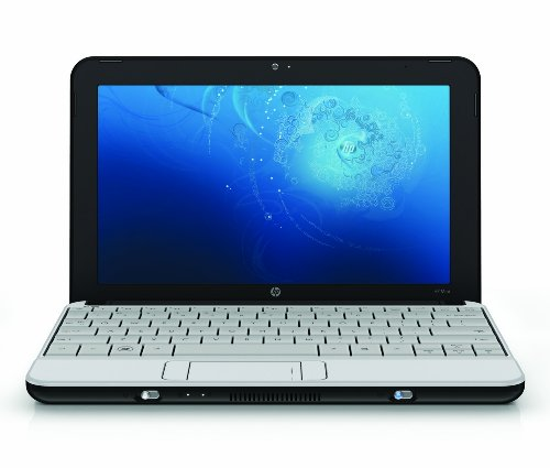 HP Mini 110-1112NR 10.1-Inch White Netbook - Up to 3.75 Hours of Battery Life (Windows 7 Starter)