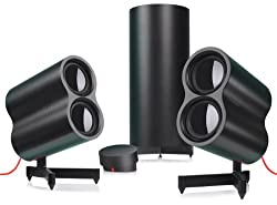 Logitech Speaker System Z553 with 40 Watts RMS Power and 3 Device Inputs (980-000649)