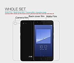 Nillkin Screen Guard for Lenovo Zuk Z2 / Lenovo Z2 Plus Whole Set Version Matte Anti Glare Front + Clear Back