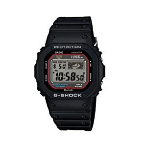 Casio G-shock Gb-5600aa Bluetooth 4.0 Watch (Ios Compatible, Red / Black) Fast Shipping By Fedex