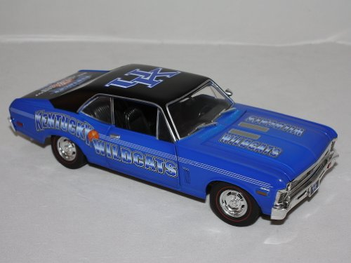 University of Kentucky Limited Edition 1970 Chevrolet Nova SS Diecast at Amazon.com