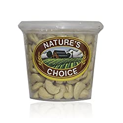 Nature's Choice Dry Fruits and Nuts - Cashew Premium, 200g  Jar