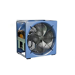 Supervac 115 230vac industrial ventilation fan with 1 3 hp Commercial exhaust fan motor