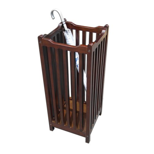 D-ART COLLECTION Mahogany Visalia Umbrella Stand