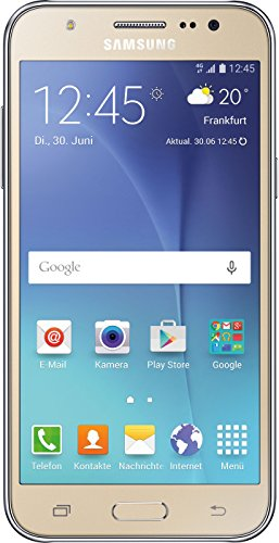 Samsung Galaxy J5 - Smartphone de 5'' (Android, 4G, cámara de 13 MP, memoria interna de 8 GB, Super AMOLED), plateado