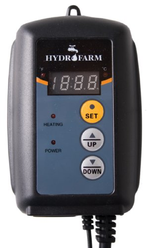 Hydrofarm MTPRTC Digital Thermostat For Heat Mats