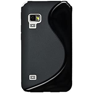 Amzer AMZ93818 Soft Gel TPU Gloss Skin Fit Case Cover for Samsung Galaxy Player 5.0 - Retail Packaging - Black