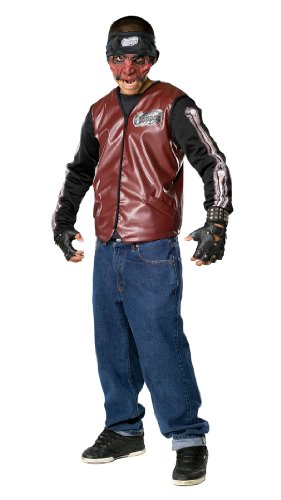 Scary Dead City Choppers Doom Rider Klown Costume - Child Medium (Chopper Gloves Children compare prices)