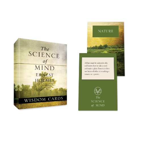 The Science of Mind Wisdom Cards (Tarcher Inspiration Cards)