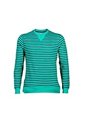UV&W Full Sleeve Roundneck Men's Green Sweatshirt