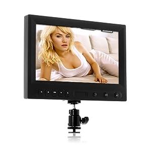 SHOPINNOV Moniteur 8 pouces HD DSLR pour appareil photo ou camescope