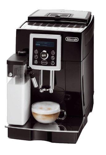 delonghi ecam 23450b kaffeevollautomat cappuccino mit ifd system black line edition test. Black Bedroom Furniture Sets. Home Design Ideas