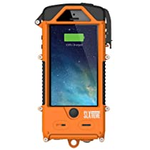 SnowLizard SLXtreme Case for iPhone 5, Signal Orange
