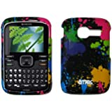 EMPIRE Paint Splatter Design Snap-On Cover Case for Kyocera Loft S2300