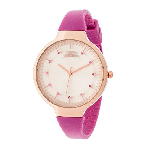 ladies-think-positiver-modell-se-w69-rose-medium-stahlband-aus-silikon-farbe-fuchsia