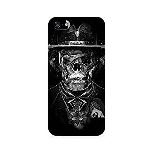 Mobicture Skull Abstract Premium Printed Case For Apple iPhone 5/5s