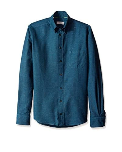 Eton Men's Slim Fit Solid Sportshirt
