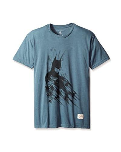 Kinetix Men's Batman Brush Short Sleeve T-Shirt