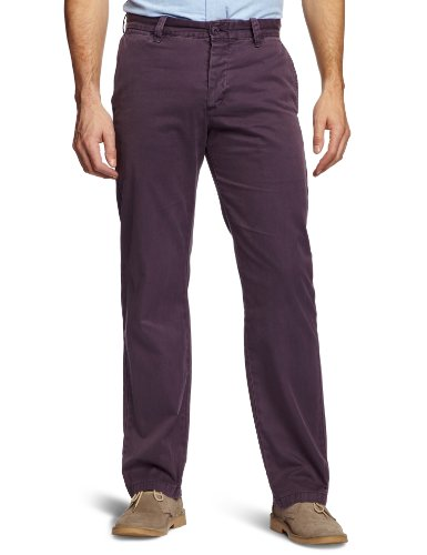 Dockers Ultimate Chino Relaxed Men's Trousers Logwood W40INxL34IN
