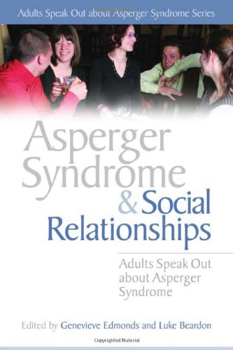 aspie dating for adults with asperger syndrome Information and discussion points for adults on the autism spectrum in dating sexual relationships personal stories by adults with asperger's syndrome.