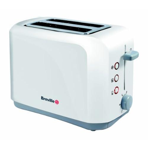 Breville VTT222 White 2 Slice Toaster