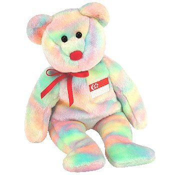 1 X TY Beanie Baby - SINGABEAR the Bear (Singapore Exclusive) - 1