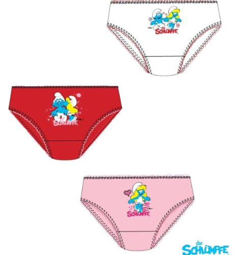 New THE SMURFS 3 pack Underwear Briefs