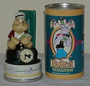 POPEYE The Sailor Man WATCH (Limited Edition with ceramic Popeye figurine)