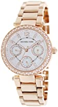 Hot Sale Michael Kors Women's MK5616 Parker Rose Gold Watch