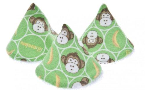 Peepee Teepee-5 Monkey Teepees & Drawstring Bag
