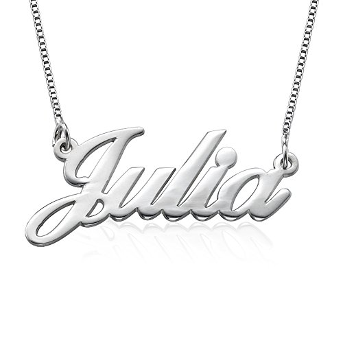 Sterling Silver Name Necklace (Custom Jewelry Necklace compare prices)