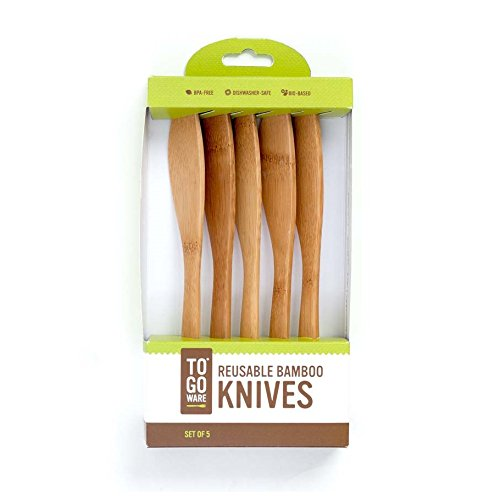 To-Go Ware Bamboo Knife, Set of 5