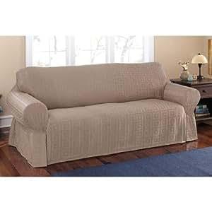 Amazon Mainstays Sherwood Slipcover Sofa Home & Kitchen