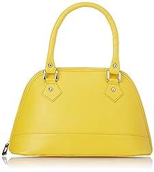 Alessia74 Handbag (Yellow) (PBG217F)