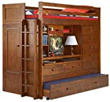 ALL N ONE LOFT BUNK BED PLAN; Build your own TWIN, FULL, QUEEN, KING Loft B ....