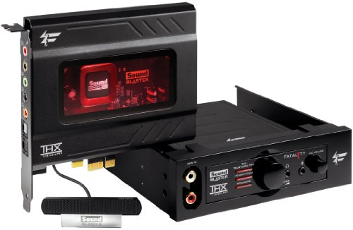 CREATIVE Sound Blaster Recon3D Fatal1ty Champion 5.1 Sound Card